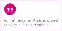 Podcasts: Zeit zum Zuhören